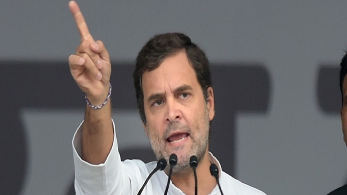 Unlike BJP, Congress fulfils its poll promises: Rahul Gandhi