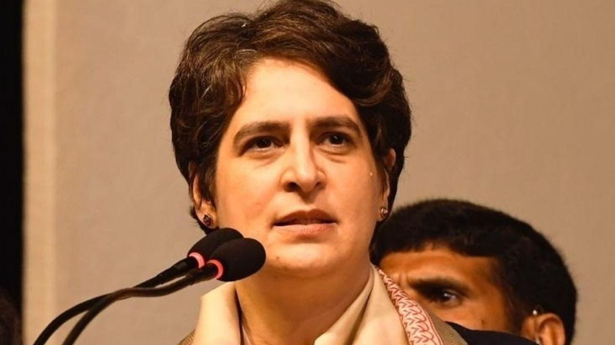Priyanka demands CBI probe to ascertain facts about 'grant of protection' to gangster Vikas Dubey