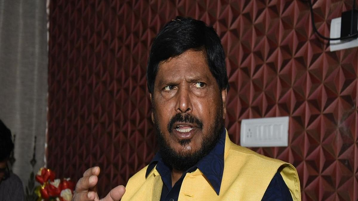Junior Minister for Social Justice Ramdas Athawale (Photo Courtesy: IANS)