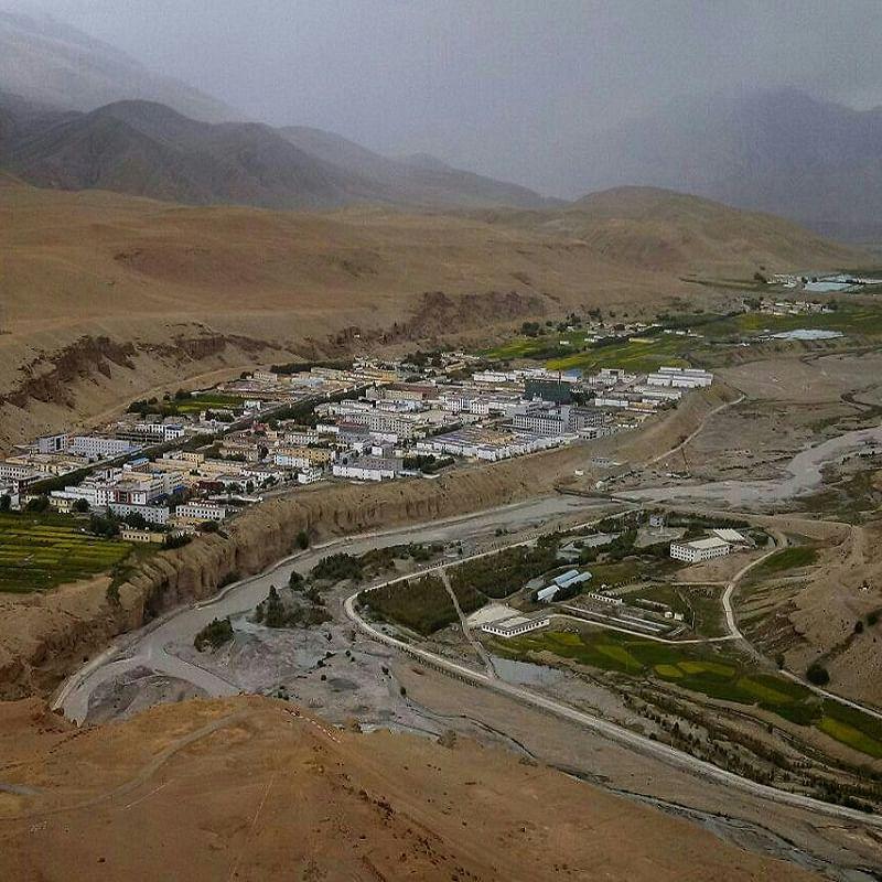 A file photo of Taklakot mart in Tibetan China