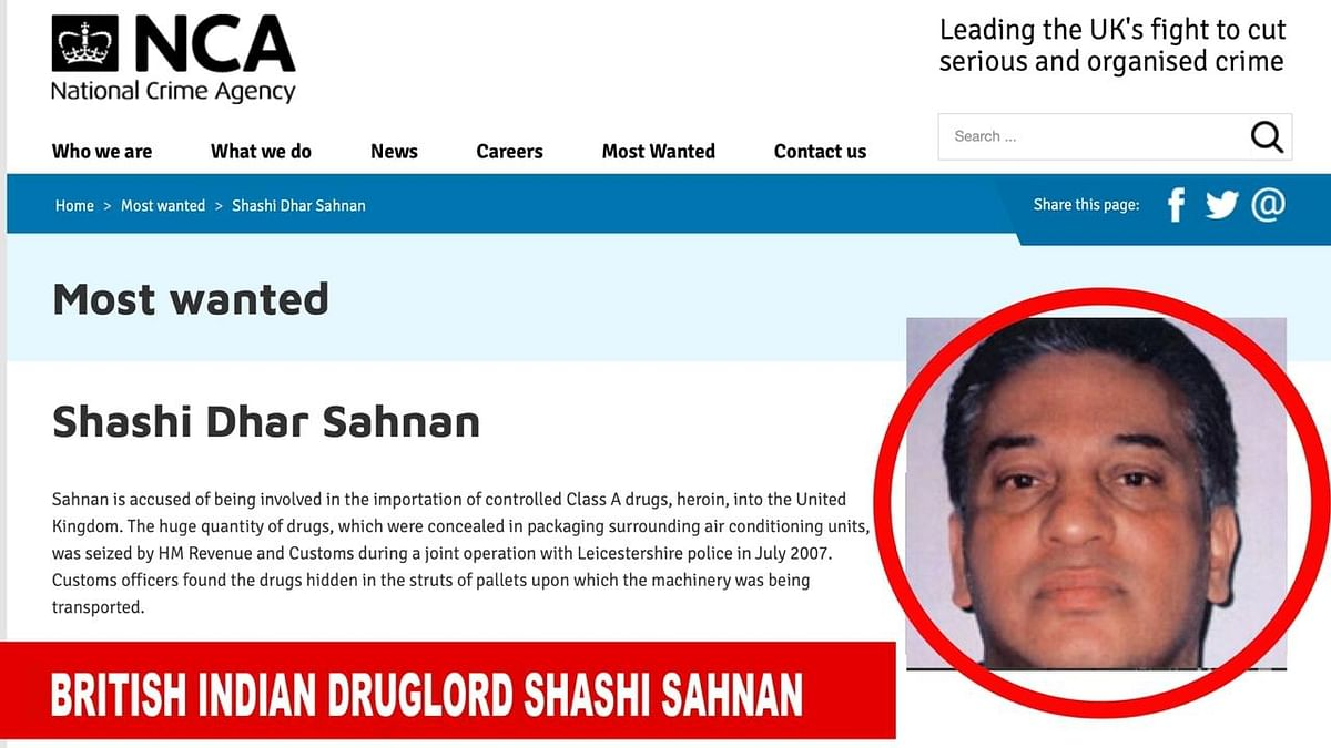 UK's most wanted: India-born Sahnan runs much bigger drug ops than D-company in Europe