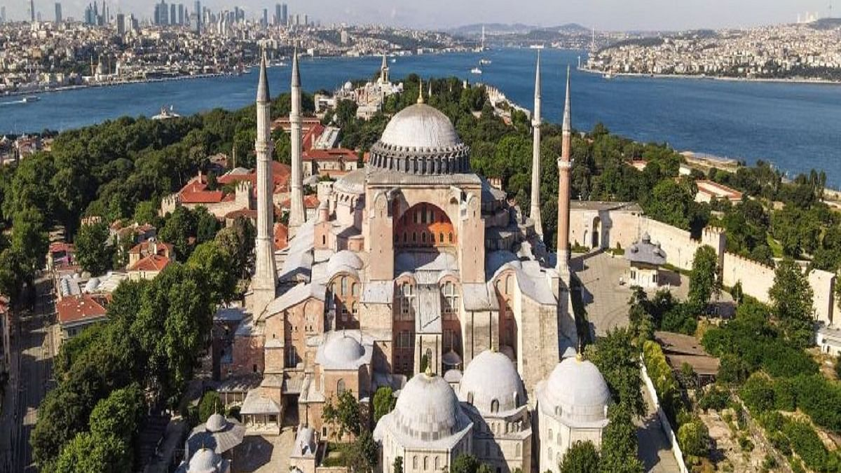 Hagia Sophia reclaimed as a mosque, prayers on July 24 after eight decades