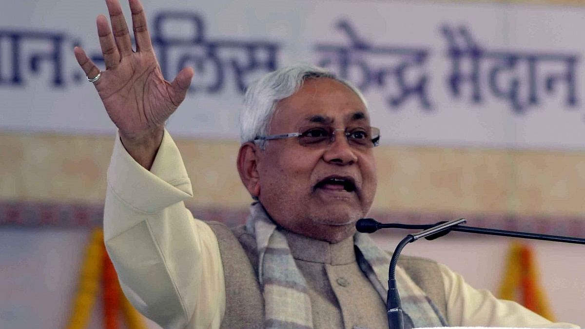 Bihar CM Nitish Kumar (Photo courtesy: IANS)