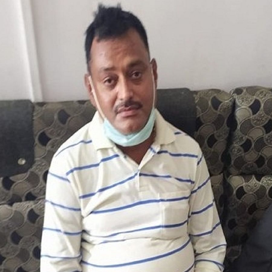 Gangster Vikas Dubey arrested in Ujjain, Madhya Pradesh (Photo Courtesy: IANS)