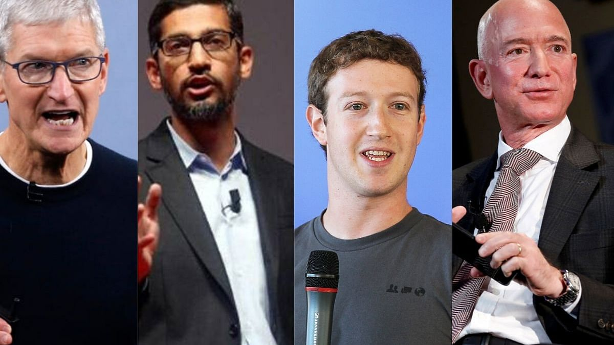 US panel to grill Bezos, Cook, Zuckerberg, Pichai on July 27
