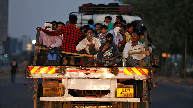 Migrants who returned to UP & Bihar find moneylenders and hostility waiting for them