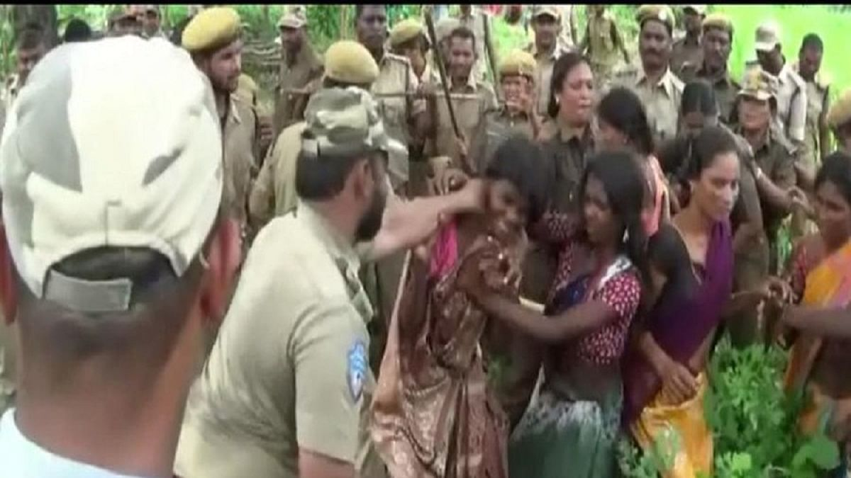 Telangana: 80 Koya tribal families evicted from their fields for plantation drive