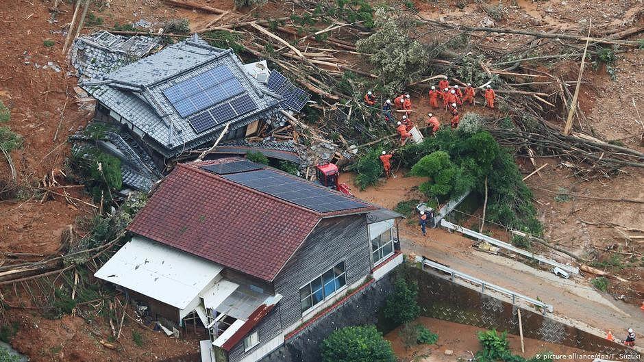 More rainfall, mudslides due in flood-hit Japan