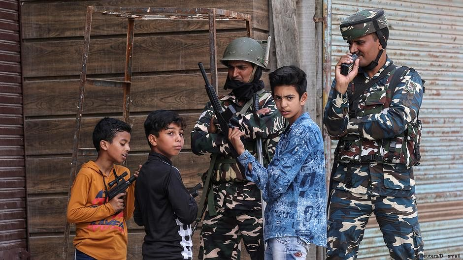 We haven't paid attention to  our children growing amid violence  in Kashmir