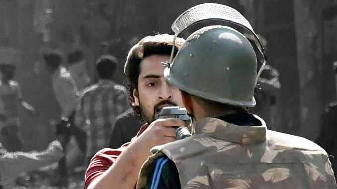 Delhi riots: Shahrukh Pathan, the man who pointed a gun at cop claims threat to life in Tihar