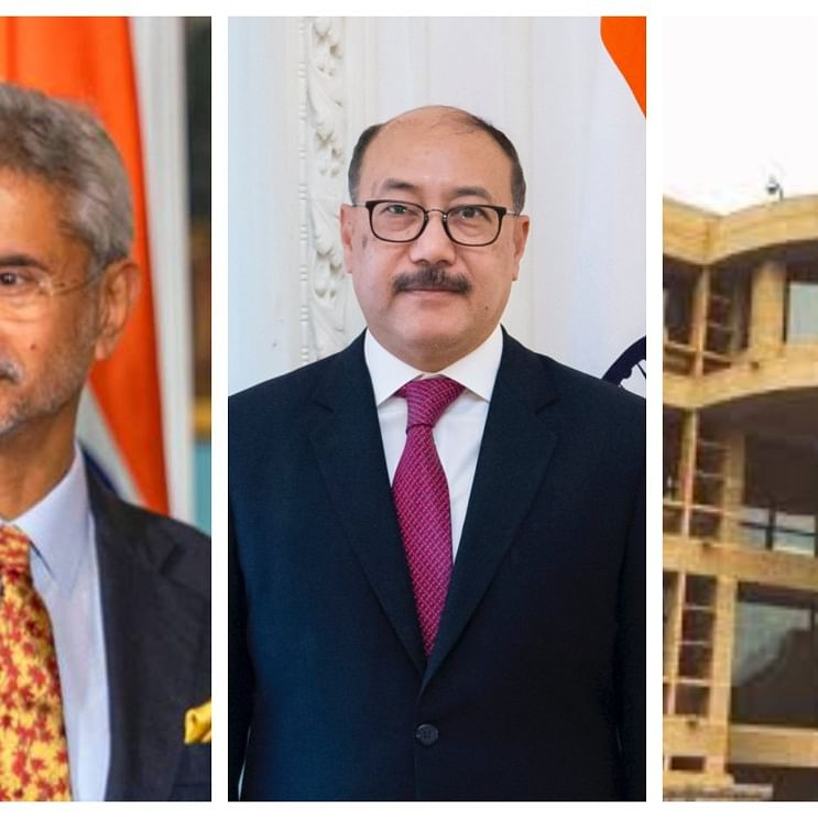 S Jaishankar, Foreign Secretary Harsh Vardhan Shringla, Embassy of India, Beijing