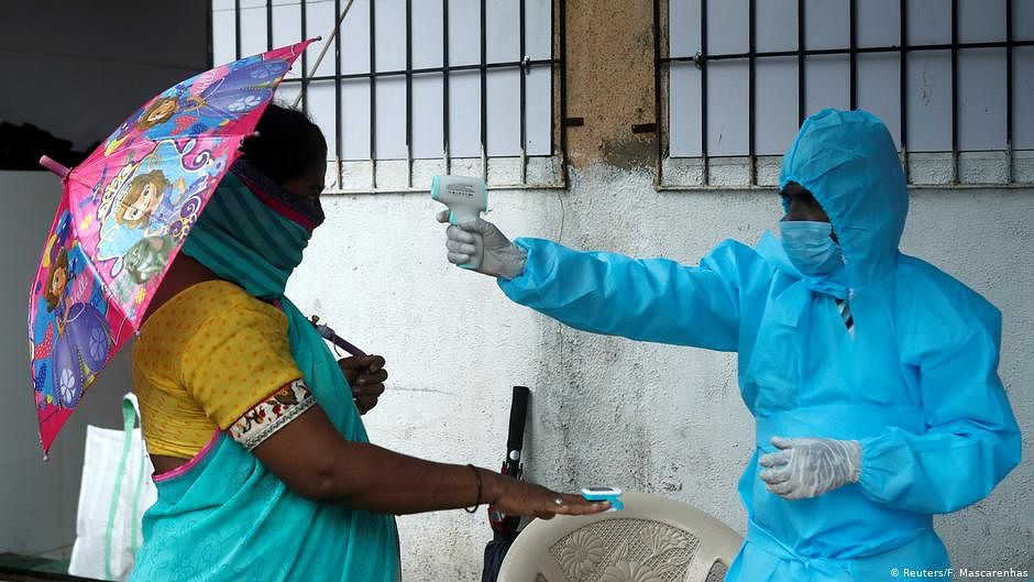 India records highest one-day jump of 57,118 COVID-19 cases; recoveries surge to 10,94,374