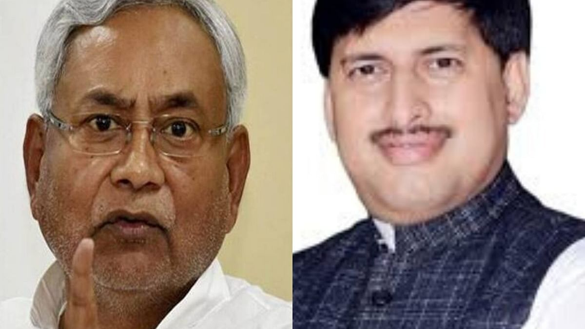 Bihar CM Nitish Kumar and former Youth Congress President Lallan Kumar