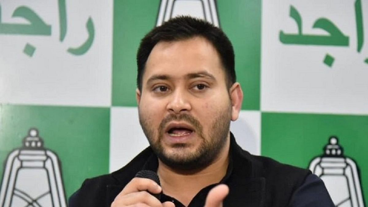 RJD leader Tejashwi Yadav (Photo Courtesy: Twitter/@ians_india)