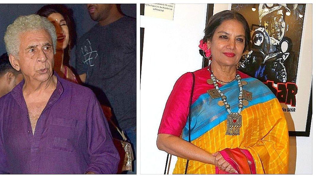 Naseeruddin Shah & Shabana Azmi look back on Sparsh