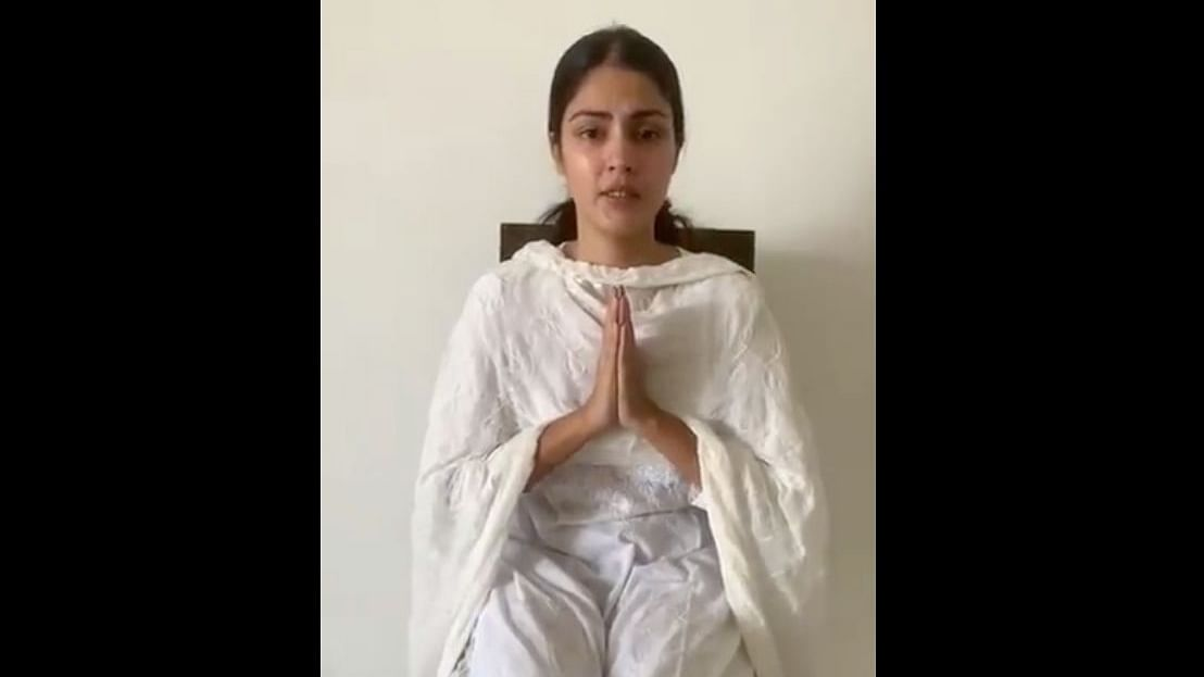 Rhea Chakraborty issues video: 'Satyamev Jayate. The truth shall prevail'