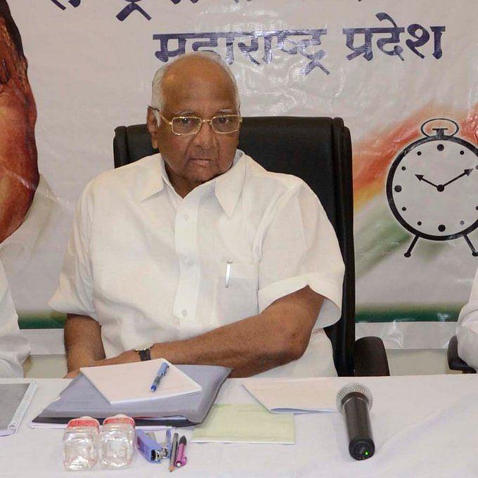 NCP Chief Sharad Pawar (File-IANS Photo)