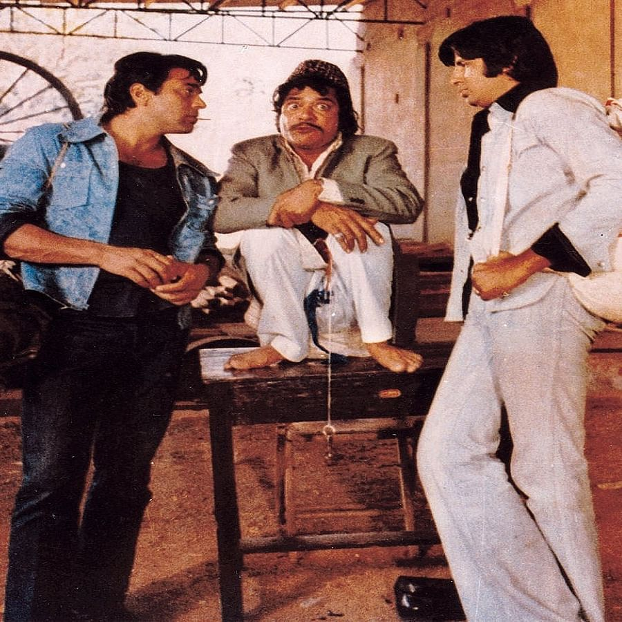 A still from Sholay (Photo Courtesy: Twitter/@FilmHistoryPic)