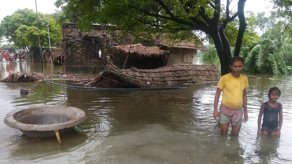 Bihar floods worsen, 38 lakh people affected in 12 districts