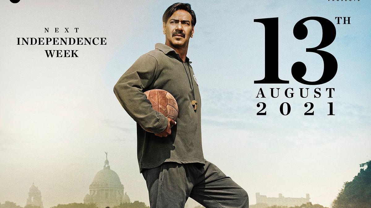 Ajay Devgn starrer 'Maidaan' to now release worldwide in theatres on  August 13, 2021!