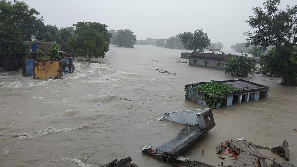 Bihar floods: 25 lakh people displaced, 8 dead