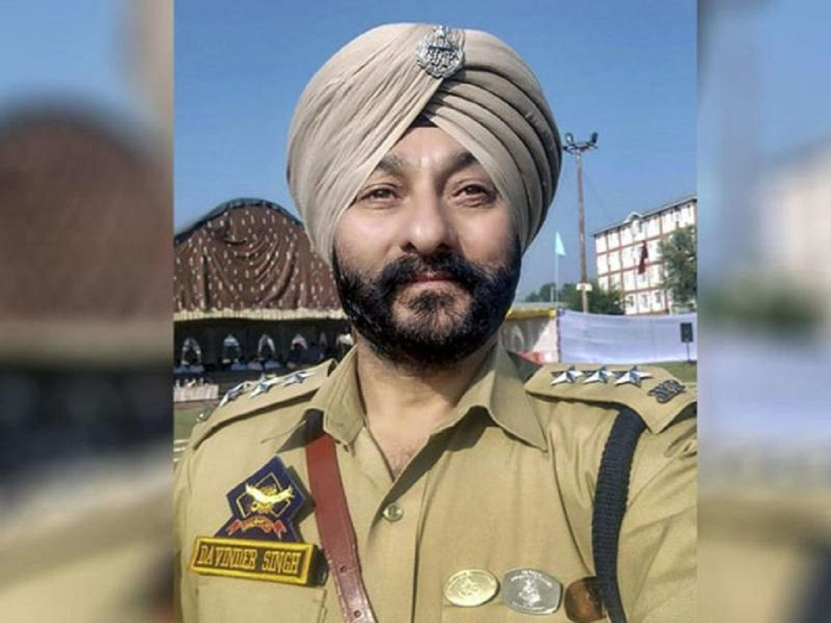 Why has ex-J&K DSP Davinder Singh, booked for waging a 'war against India', been let off the hook?