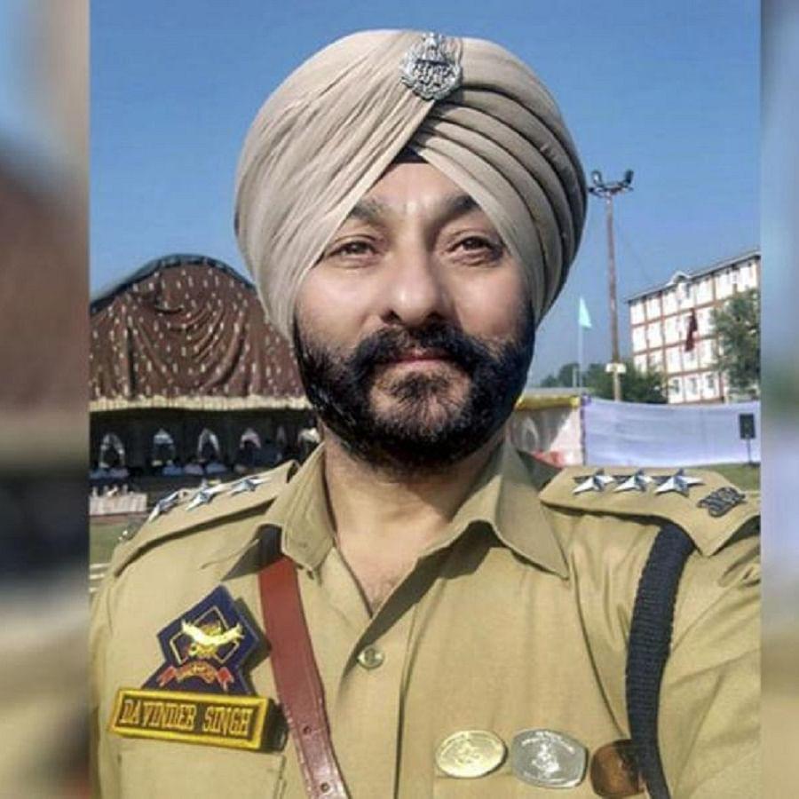 Former J&K DSP Davinder Singh
