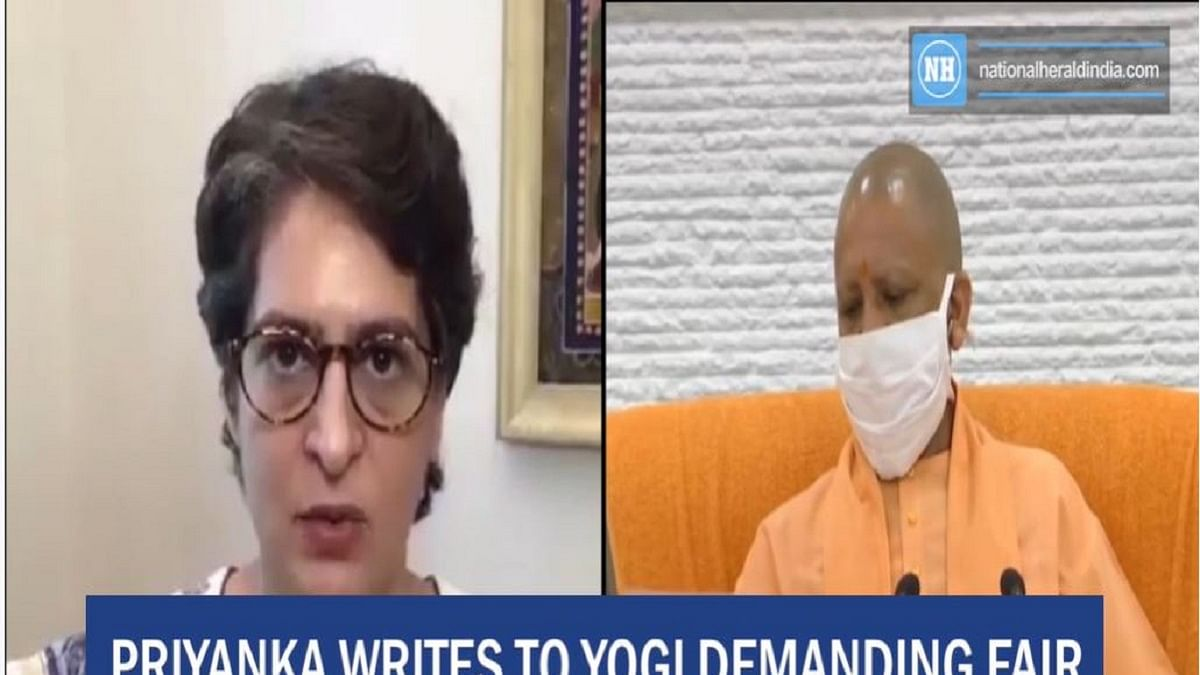 Priyanka writes to Yogi demanding fair investigation of PCS officer's death