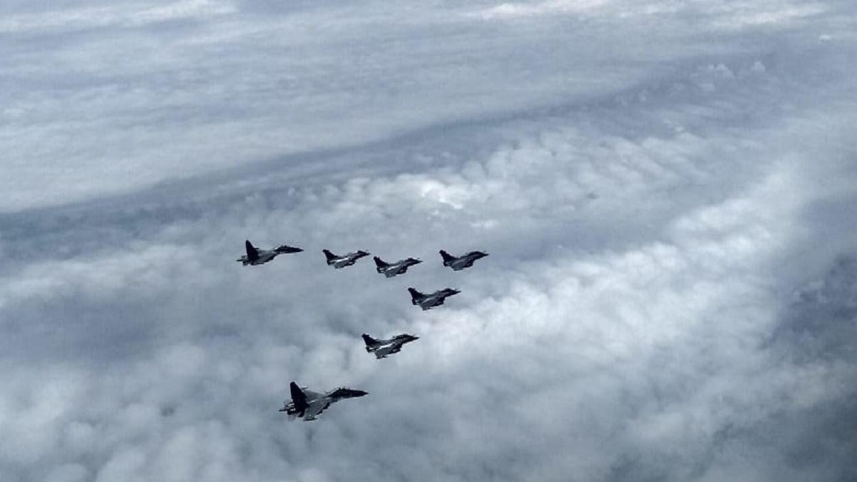 5 Rafale jets land safely at IAF airbase in Ambala
