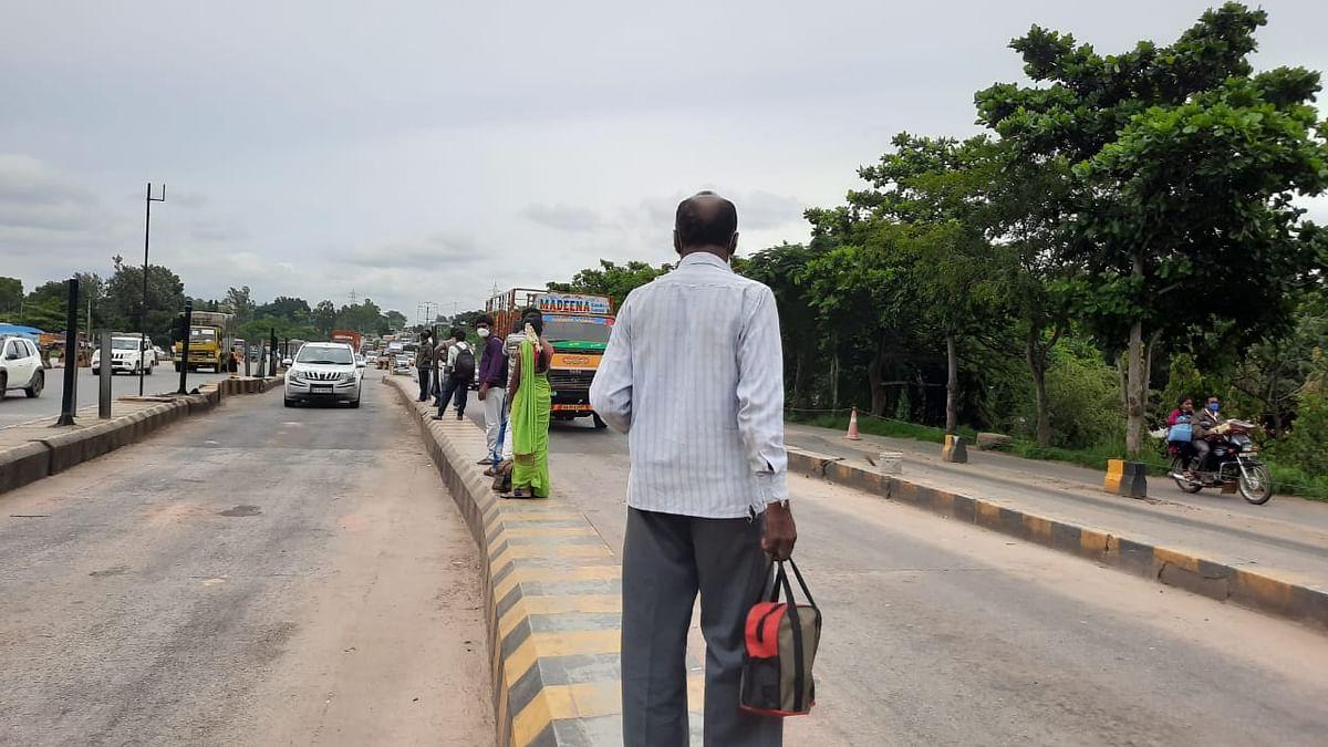 lockdown in Bengaluru (Photo courtesy: Twitter)