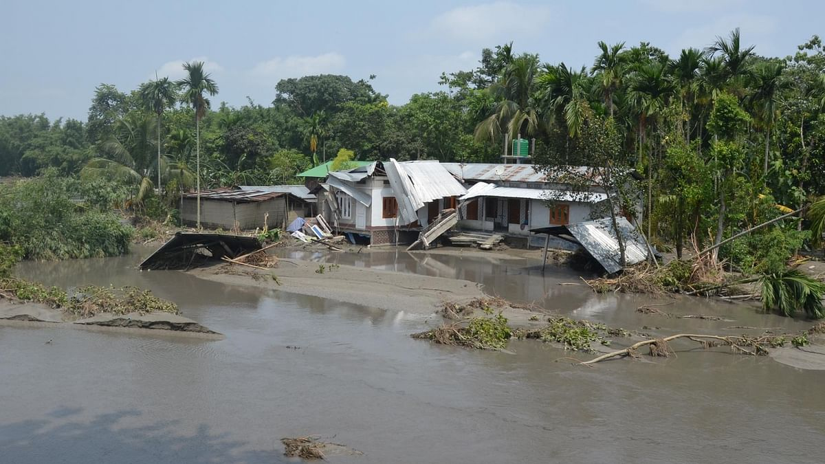 Assam flood situation worsens again, death toll rises to 89