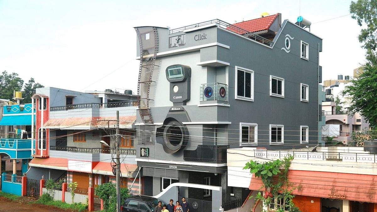 Unique! This camera shaped house built by a photographer in Karnataka will steal your heart!