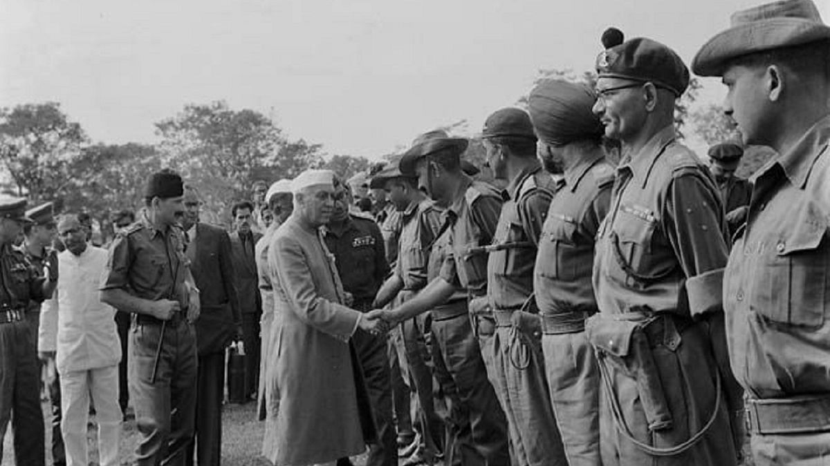 Jawaharlal Nehru 's  letter to chief ministers the day after the Chinese attack in 1962