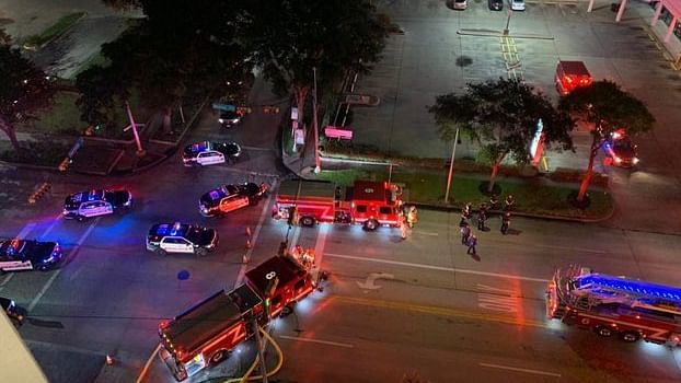 Fire reported at China Consulate in Houston