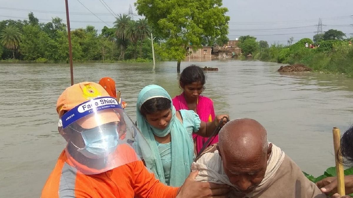 Bihar floods: NDRF teams rescue over 3,500 people