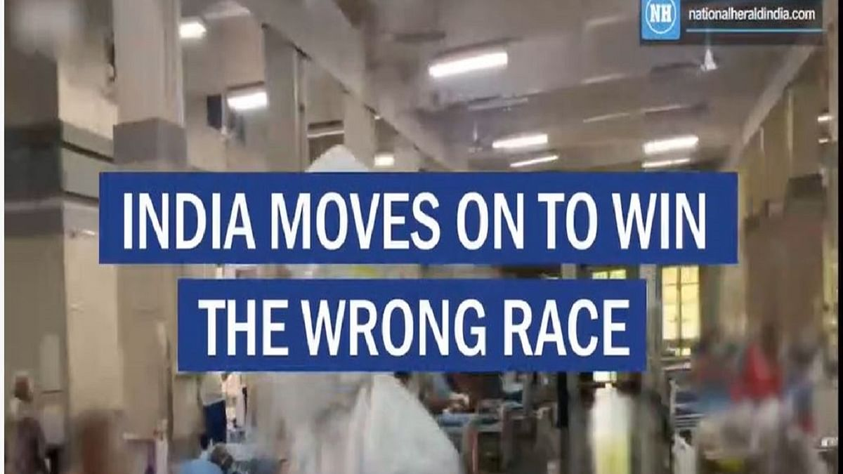 India moves on to win the wrong race