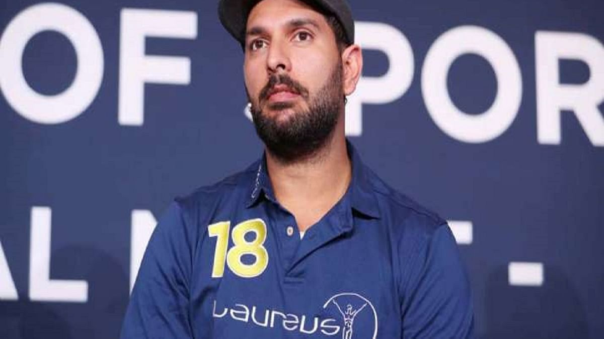 Yuvraj Singh (Photo Courtesy: Twitter/@SportzTime_IN)