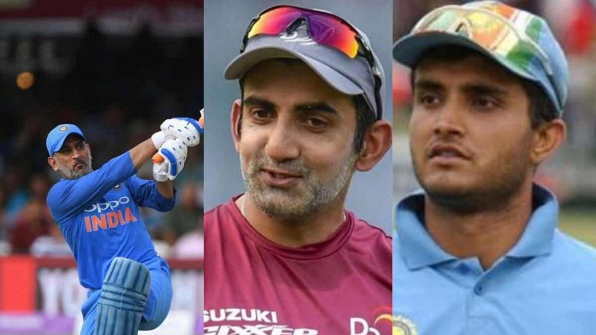 Dhoni din't give enough quality players, like Ganguly gave to India: Gambhir
