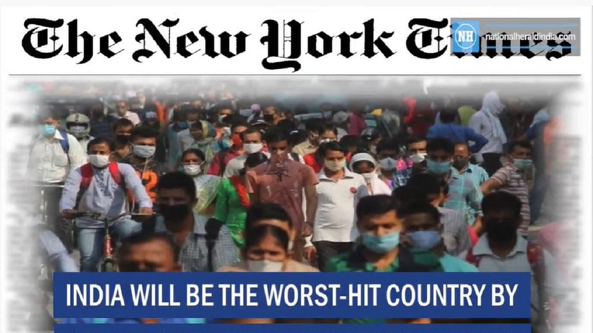 India will be the worst-hit country by COVID-19 next year: The New York Times