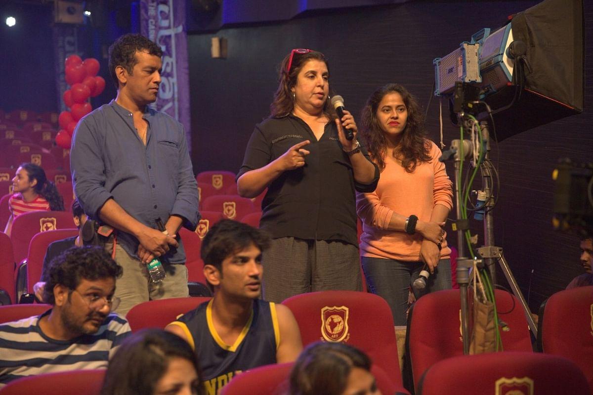 Farah Khan choreographs Sushant Singh Rajput's last ever song on screen