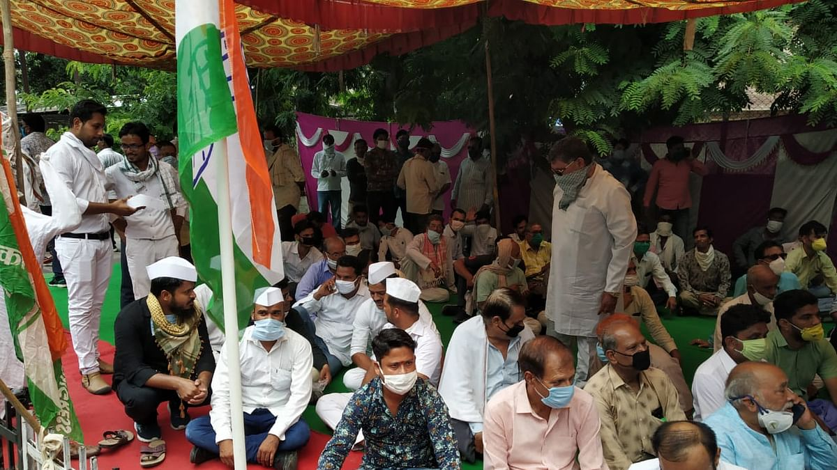 Rajasthan: Congress workers stage demonstrations across state against BJP