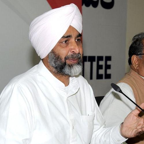 Punjab Finance Minister Manpreet Singh Badal (IANS Photo- file)