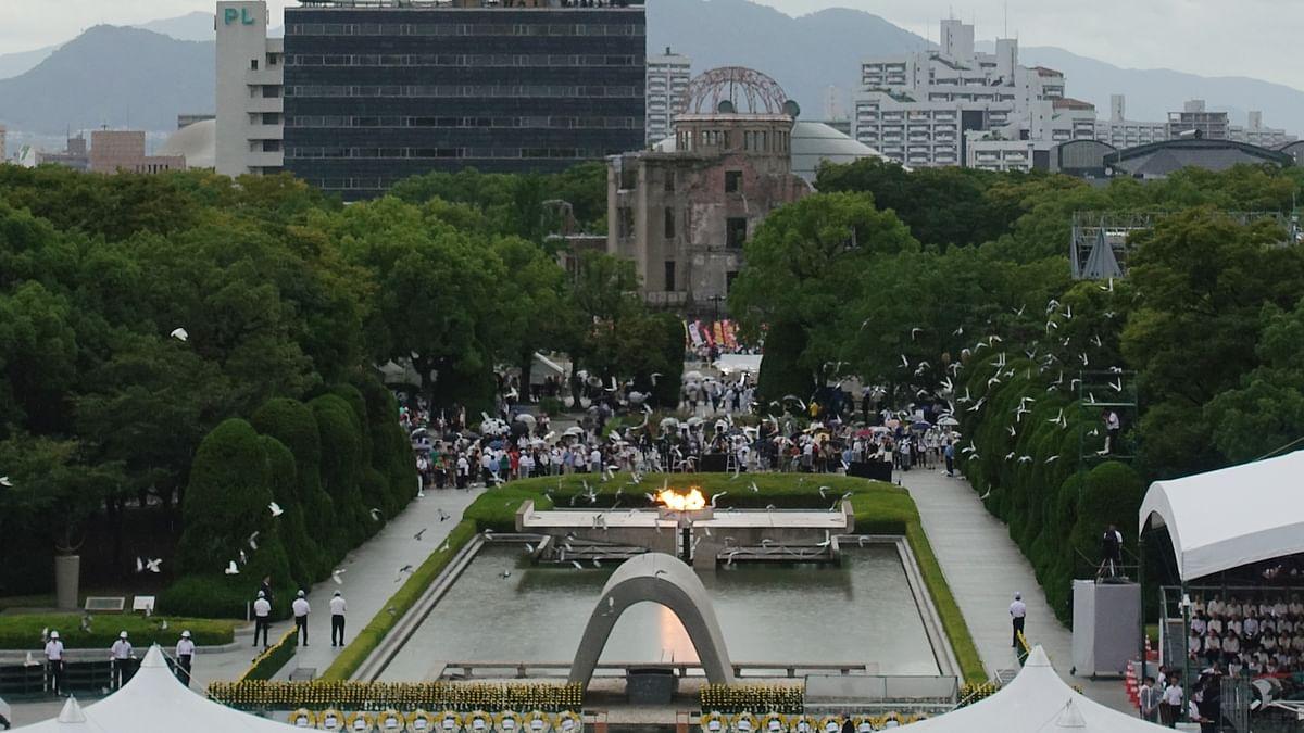 Hiroshima marks 75th atomic bomb anniversary