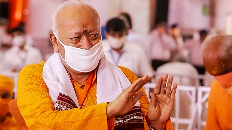 Govt, administration, public - all dropped guard after first COVID wave: RSS Chief Mohan Bhagwat