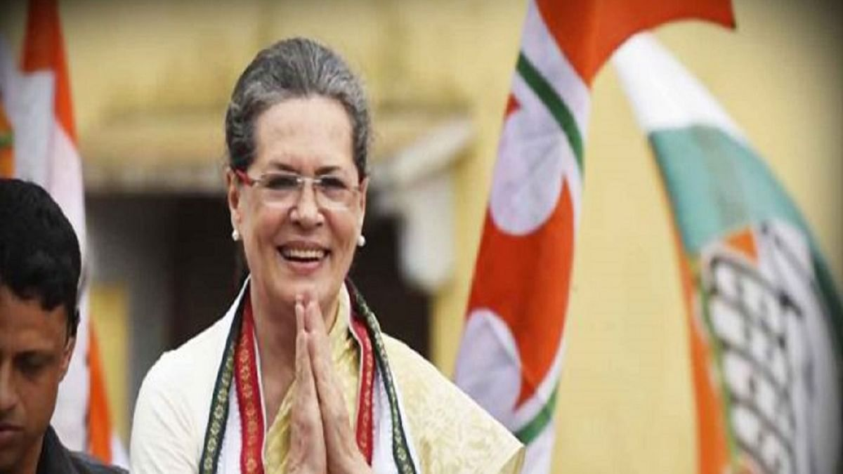 Sonia appeals people to be cautious about COVID, attacks Centre