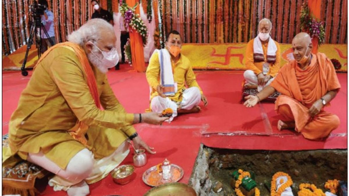 PM Modi's comparison of Ram Mandir Bhumi Pujan with Independence Day is bizarre