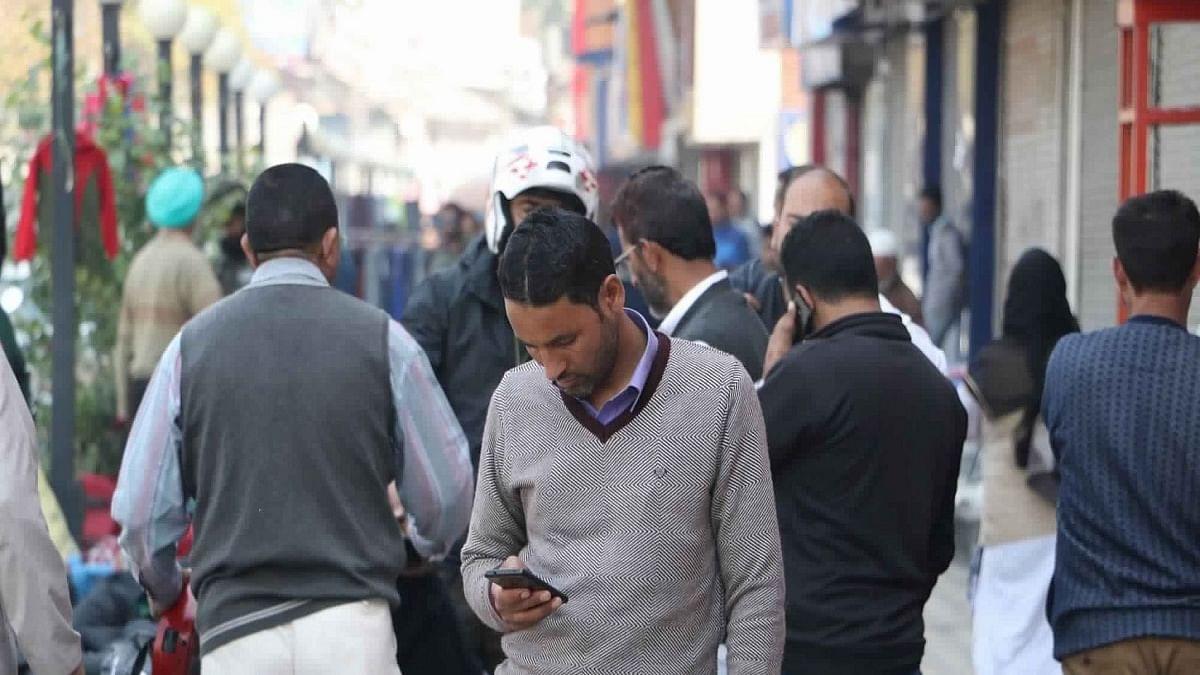 4G mobile internet service restored in J&K's Udhampur, Ganderbal