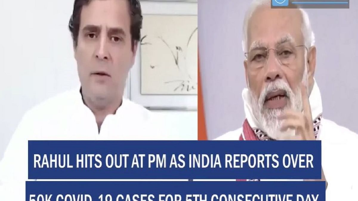 Rahul hits out at PM as India reports over 50K COVID-19 cases for 5th consecutive day