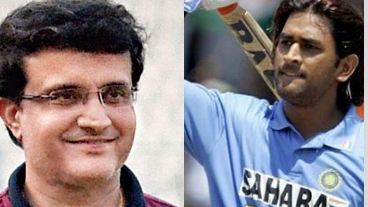 Dhoni had superb big-hitting abilities; he was rare, says Ganguly