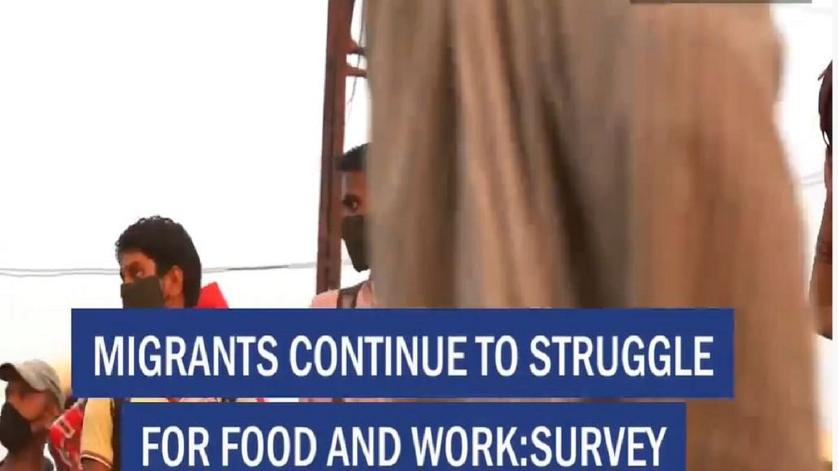 Migrants continue to struggle for food and work: survey